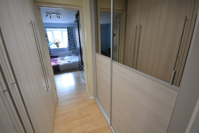 Walk in cupboard